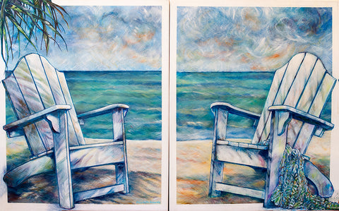 elisabeth arbuckle - Sit Back and Enjoy (diptych)