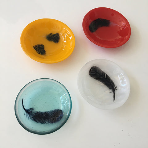 jennifer anne kelly ~ Feather Bowl(s)