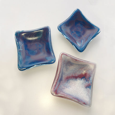 jennifer anne kelly ~ Mini marbled square dish