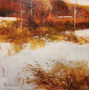 peter leckett ~ Crisp Snow (sold)