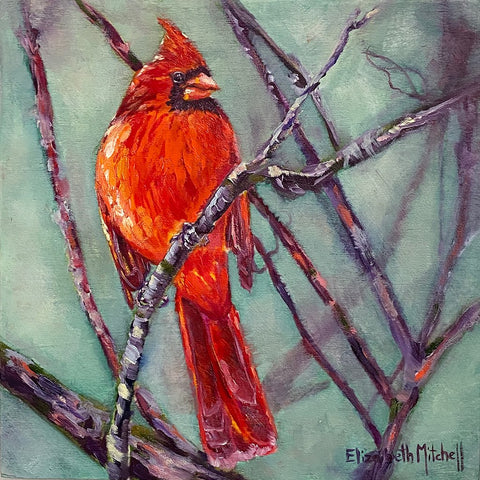 elizabeth mitchell ~ Early Morning Cardinal
