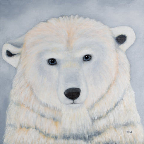 anita utas ~ The Listener (polar bear)