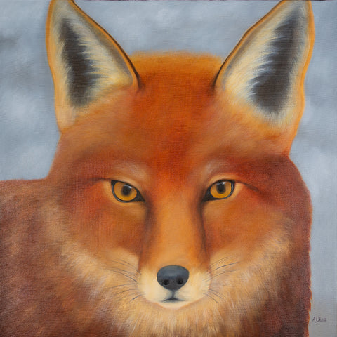 anita utas ~ The Dreamer (red fox)