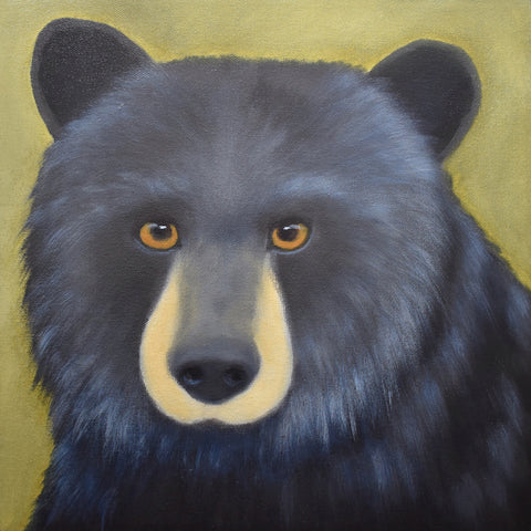 anita utas ~ The Secret Keeper (black bear - small)
