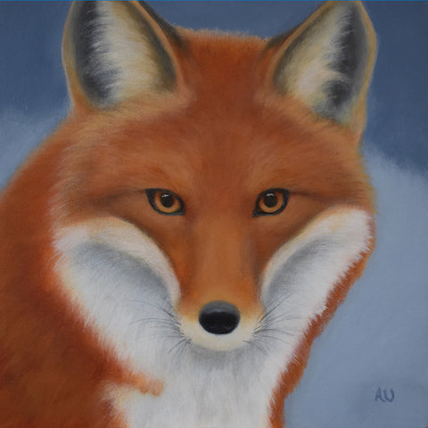 anita utas ~ The Wanderer (red fox - small)
