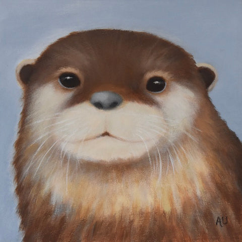 anita utas ~ The Prankster (otter - small)