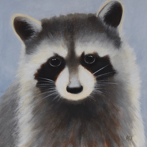 anita utas ~ The Rescue (raccoon - small)
