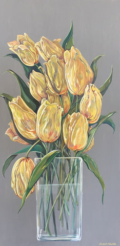elisabeth arbuckle - Yellow Tulips (sold)
