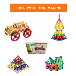 Car Bundle Set: 272 Magnefun + 40 Magwisdom Set