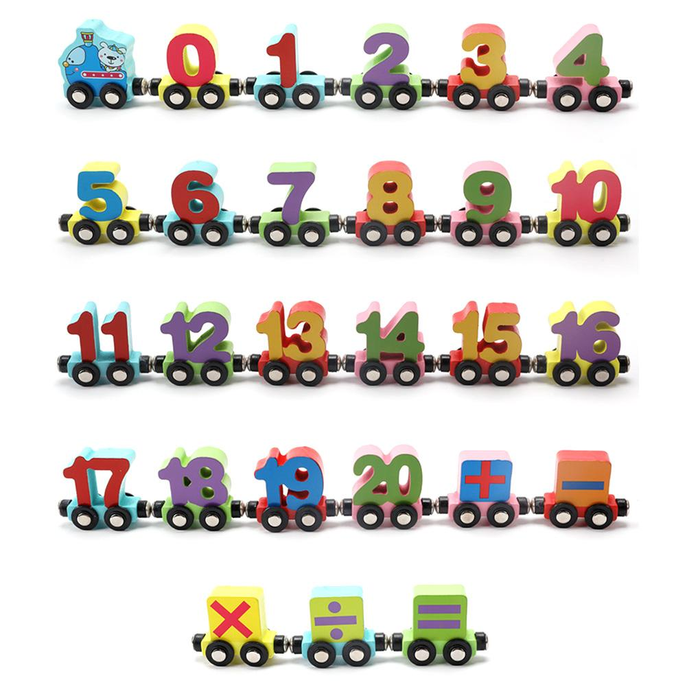 Magnetic Alphabet/Number 0 - 20 Train