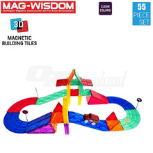 Load image into Gallery viewer, Magwisdom (Tiles) 55 Pieces - Car Track