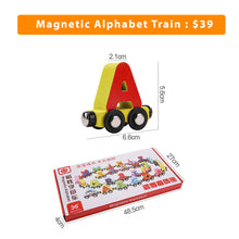 Load image into Gallery viewer, Magnetic Alphabet/Number 0 - 20 Train