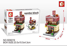 Load image into Gallery viewer, Sembo Block Pizza Shop