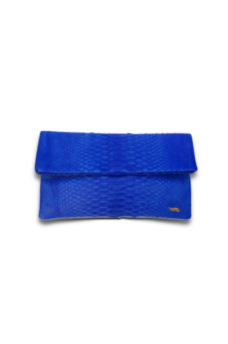 Small Cobalt Blue Clutch