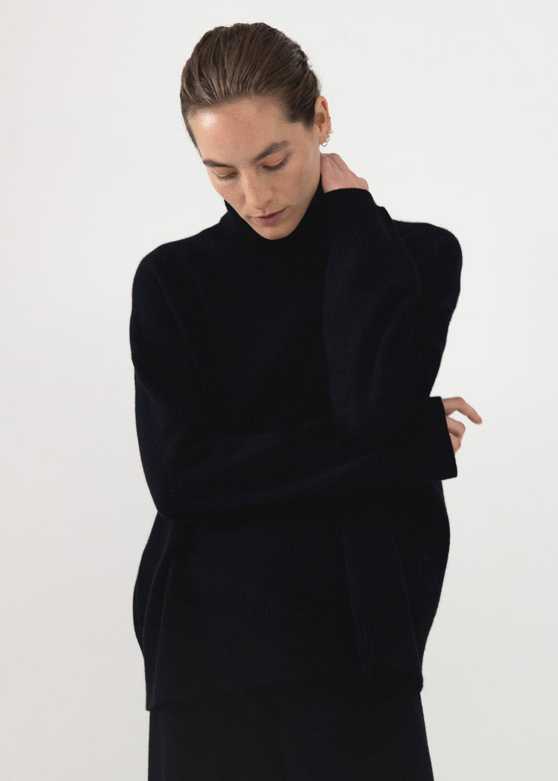 Essential Boyfriend Turtleneck