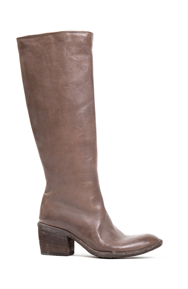 High Leather Boot (5187645014156)