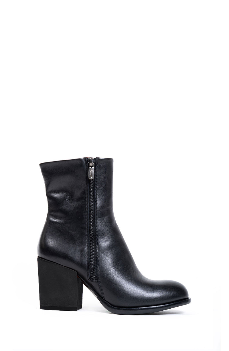 Black Double Zip Boot