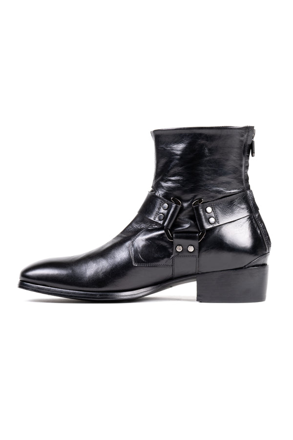 Leather 'Moto' Boot