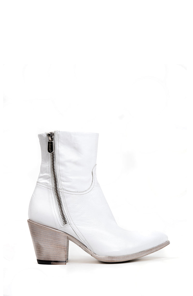 White Leather Double Zip Boot (5192038318220)