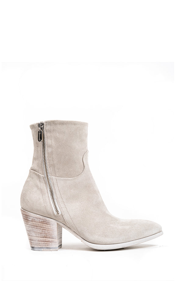 Suede Double Zip Boot (5192021311628)