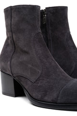 Suede Square Toe Boot (5192028160140)