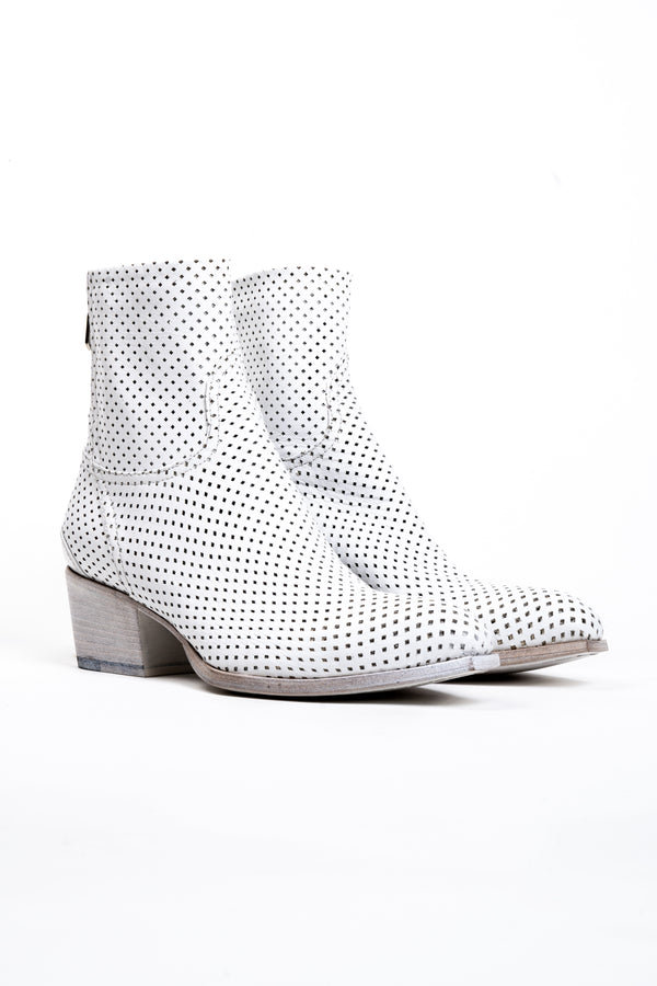 Perforated Leather Boot (4781197262988)