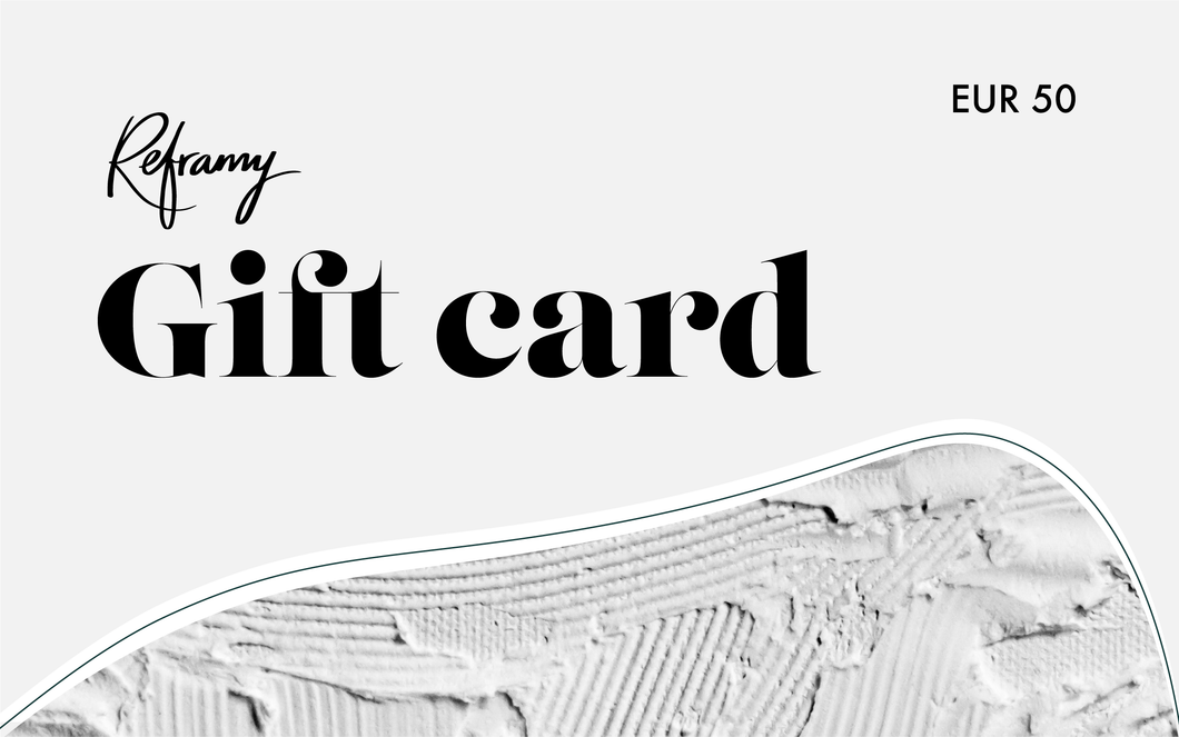 Your Reframy gift card