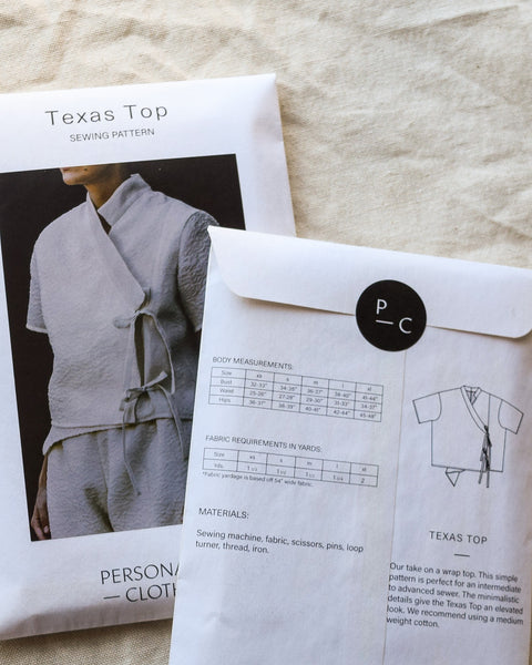 Texas Top Sewing Pattern