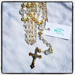 Crystal and Pearl Rosary - SocialChair