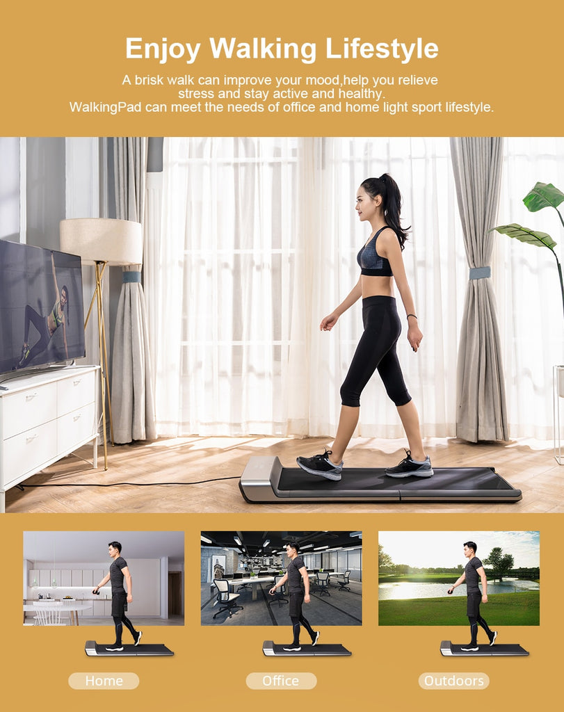Smart Electric Foldable Treadmill  Aerobic Sport Fitness Equipment - FlexFitWear2.0