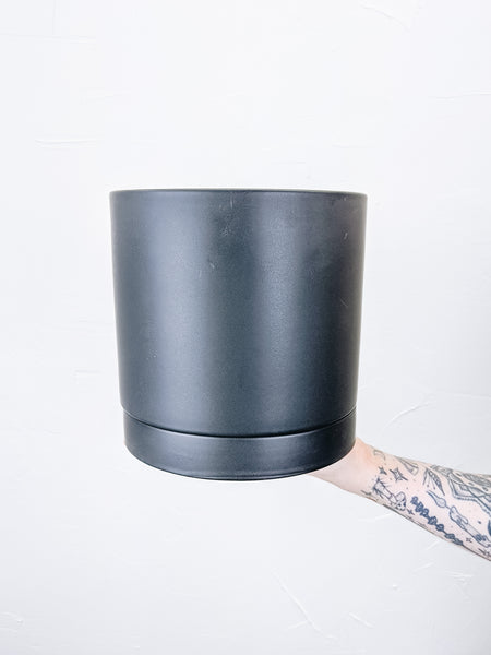 Romey Pot - Black (Large)