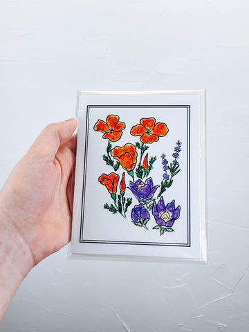 Native Plant Greeting Cards