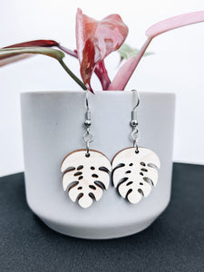 'The Monstera' Earrings