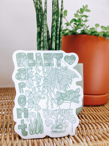 'Plant Parent' Sticker