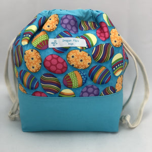 Small Sack - Easter Eggs - Colour Blocked
