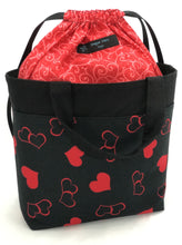Load image into Gallery viewer, Tote Bag - Intertwined Hearts
