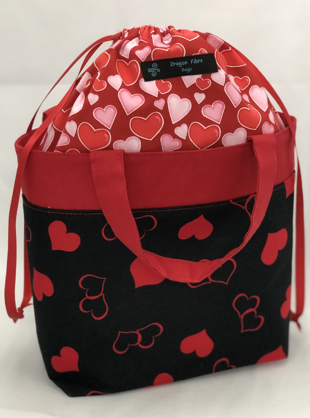 Tote Bag - Intertwined Hearts