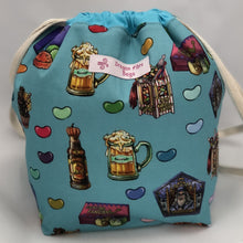 Load image into Gallery viewer, Small Sack - Wizarding World Treats - Custom Fabric