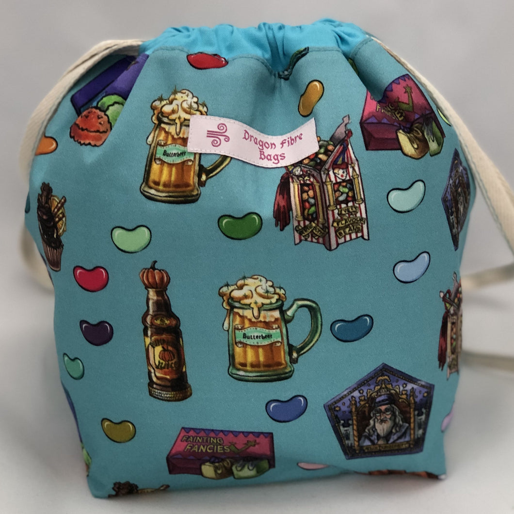 Small Sack - Wizarding World Treats - Custom Fabric