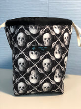 Load image into Gallery viewer, Small Sack - Skull Argyle