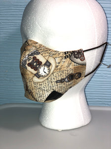 Non-Medical Fabric Mask - Small/Medium