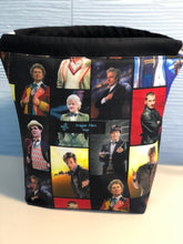 Load image into Gallery viewer, Small Sack - Doctor Who - Custom Fabric