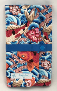 Needle Case (Double Row) - Koi Fish
