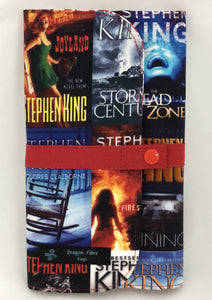 Needle Case (Double Row) - Made with Stephen King Book Covers