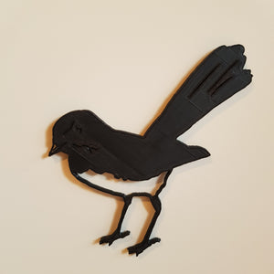 Willie Wagtail Decal