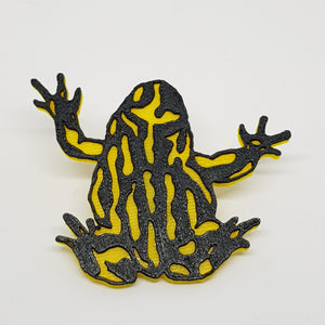 Corroboree Frog Brooch