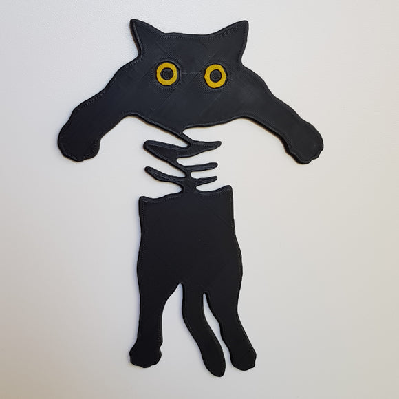 Cat Held Decal