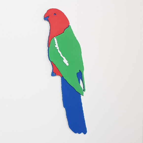 King Parrot Decal