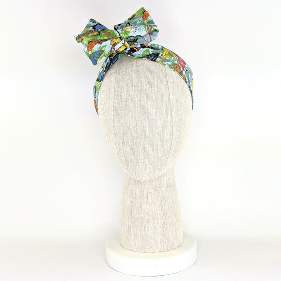 Wire Wrap Headband - Butterflies