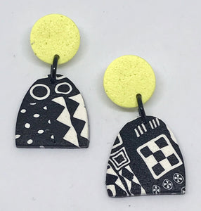 Paradise earrings-citrus 141001R